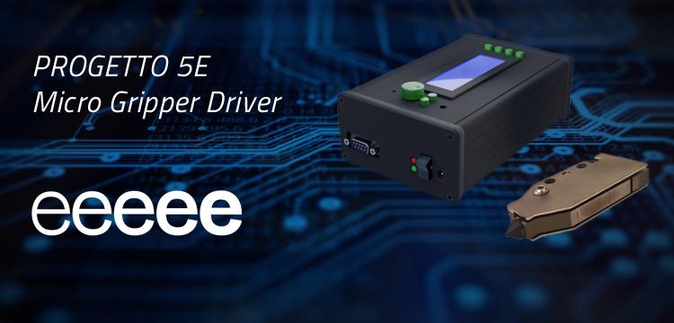 phi drive progetto 5e micro gripper piezo