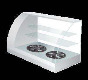 Ventilatori compatti a risparmio energetico per vetrine refrigerate