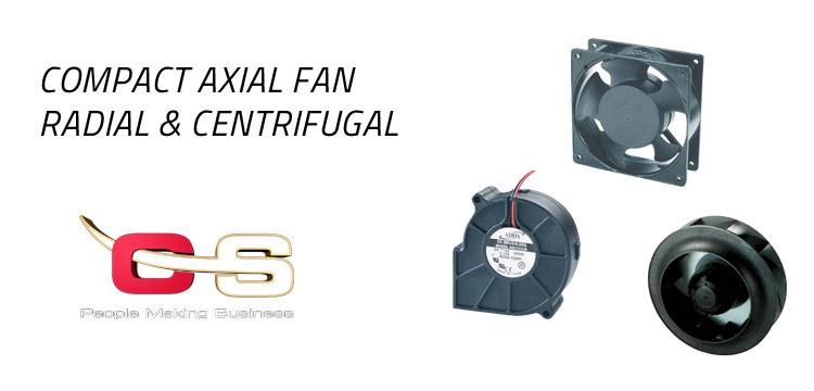 ventilatori assiali compatti centrifughi radiali